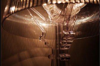 """""""Bourgie, una lámpara de policarbonato de estilo inconfundible y un éxito de ventas verdadero y propio de Kartell, conjuga la tradición clásica barroca.""""  Lámpara Bourgie – Mobiliario y iluminación – Decorar una casa  Foto 1 335x220"""