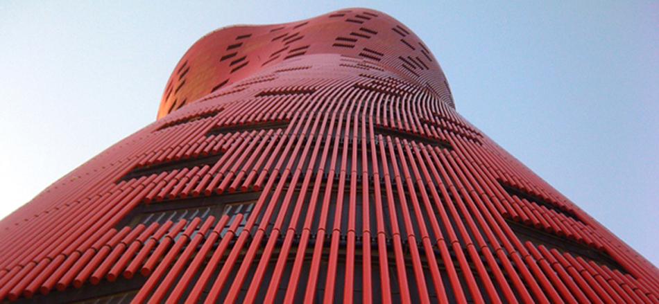 Hotel Porta Fira, la joya roja de Toyo Ito Fotofea