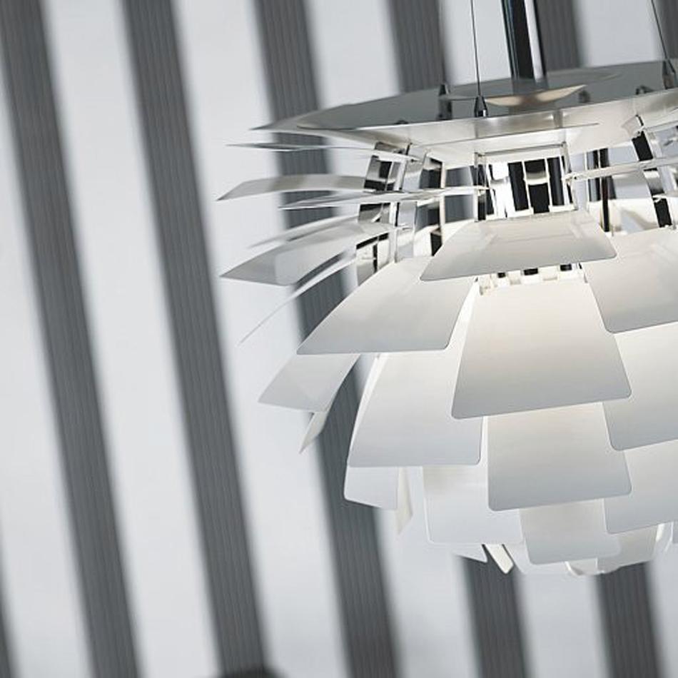 La lámpara PH Artichoke, diseño que trasciende el tiempo LOUIS POULSEN PH ARTICHOKE PENDANT LAMPARA LAMP 4