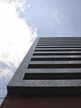 """""""El proyecto consistió en la remodelación de un edificio de oficinas construido en 1981, para ser convertido en un edificio habitacional con 23 departamentos."""""""