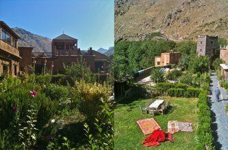 """""""El Hotel Kasbah du Toubkal se encuentra en las montañas de Marruecos. Este hotel es en realidad una gran casa tradicional donde se podrá vivir la auténtica experiencia Bereber.""""  Kasbah du Toubkal –Viajes y Lugares de Lujo – Decorar una Casa Foto 44 333x220"""