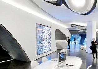"""""""Zaha Hadid Architects y Roca London Gallery se unen para consolidar una galería que se erige como referente del interiorismo."""""""
