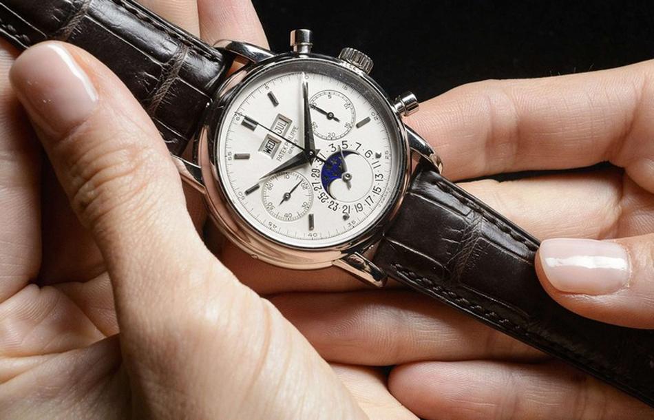 Subastado reloj de Eric Clapton Fotofer