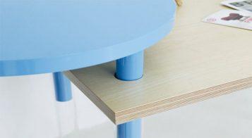 """""""La serie A Intersection B es una obra del diseñador coreano Kim Myung Hyun. Y es una colección de muebles que se pueden encajar de distintas formas, para ser utilizado de manera que se adapte a cada una de las situaciones."""""""