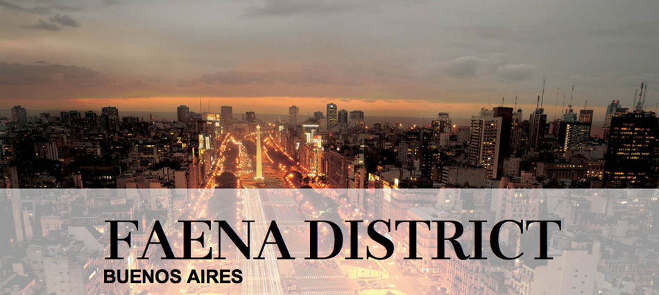 Faena Art District slide