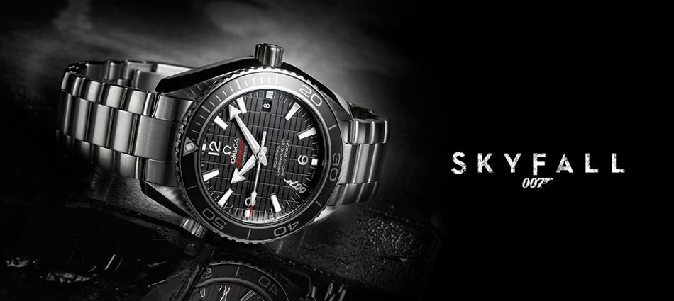 """""""Skyfall, la nueva película de James Bond; El reloj creado por OMEGA para celebrar su séptima actuación en una película Bond."""" Seamaster Planet Ocean 600M Skyfall Untitled 120"""