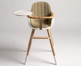 """""""El estudio CuldeSac ha diseñado para la firma de mobiliario infantil Micuna, la trona Ovo."""""""