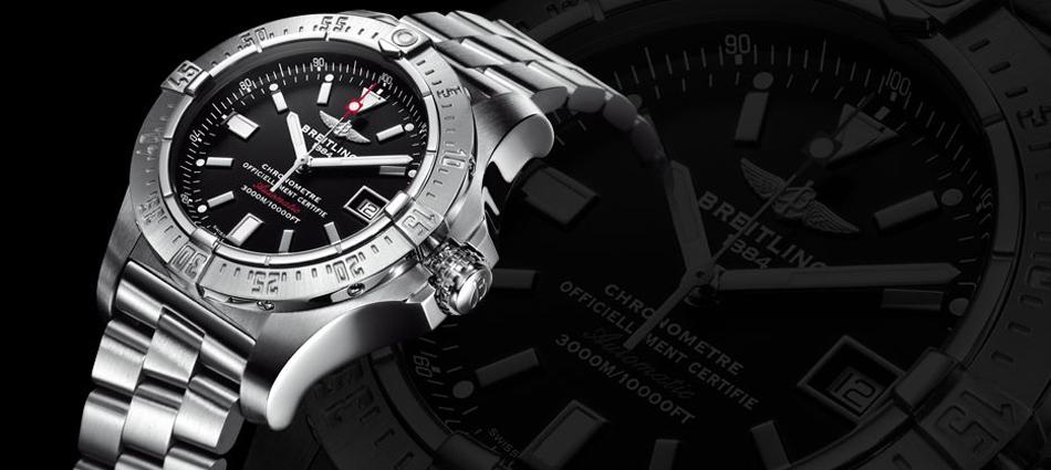 """""""El nuevo reloj presentado por Breitling; Sumergible hasta una profundidad de 3.000 metros"""""""