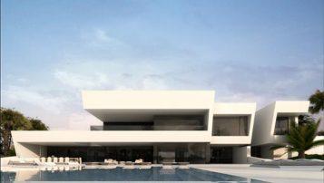 """""""Último proyecto del estudio A-Cero en la categoría de arquitectura; Vivienda unifamiliar situada en el Norte de África;"""