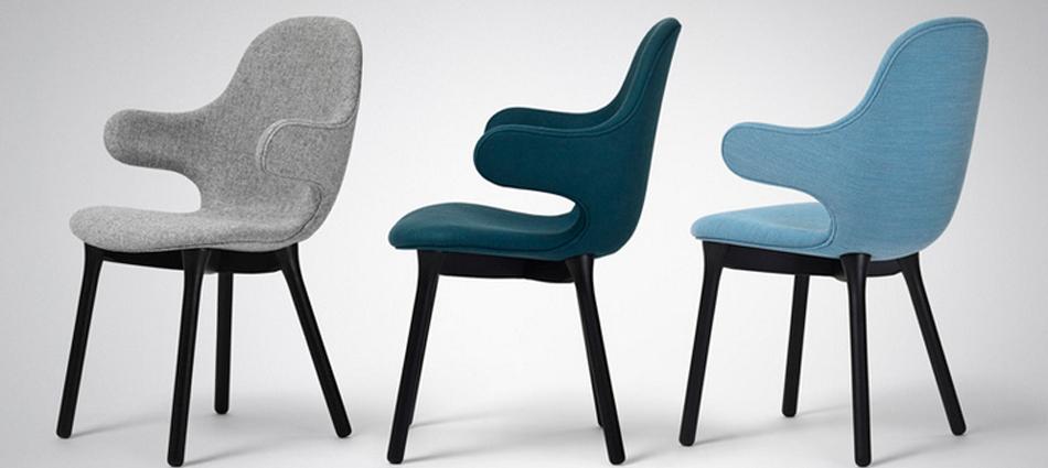 """""""El diseñador español Jaime Hayón ha creado para la marca danesa &tradition una silla con brazos que se extienden desde el alto respaldo como una invitación a sentarse"""" La Silla Catch de Jaime Hayón Untitled 1"""