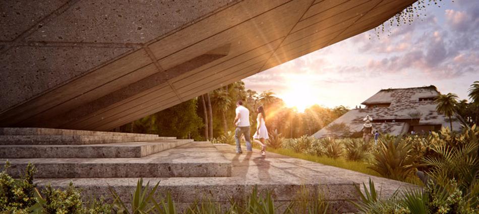 """""""El nuevo museo del sur de México está siendo proyectado por FR-EE, la empresa de Fernando Romero. El museo está localizado en la Riviera Maya y reinterpreta la calidad espacial de las ruinas de esta región"""" El Museo en la Riviera Maya Untitled 31"""