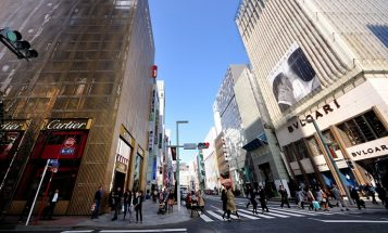 """""""Bulgari ha decidido celebrar sus 20 años de presencia en Japón con la apertura de dos grandes tiendas."""""""