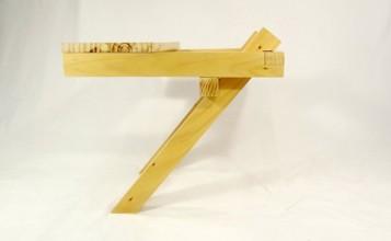 """""""El proyecto de Ulises Ruiz aborda un problema puntual: construir algo donde sentarse.""""  Silla En Equilibrio de Ulises Ruiz  110 357x220"""