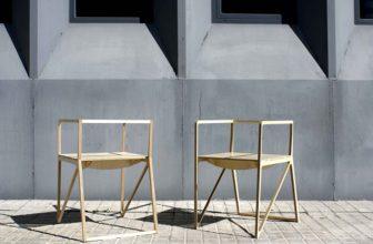 """""""Creada por el diseñador español Ignacio Hornillos, la silla está construida únicamente con madera contrachapada.""""  Silla Brace de Ignacio Hornillos Design Studio  17 336x220"""