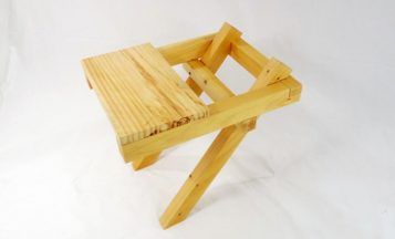 """""""El proyecto de Ulises Ruiz aborda un problema puntual: construir algo donde sentarse.""""  Silla En Equilibrio de Ulises Ruiz  211 357x216"""