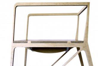 """""""Creada por el diseñador español Ignacio Hornillos, la silla está construida únicamente con madera contrachapada.""""  Silla Brace de Ignacio Hornillos Design Studio  28 329x220"""