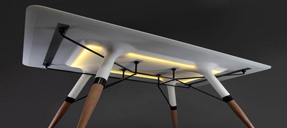 Ideas para Decorar: Mesa T, elegancia con luz incorporada Untitled 122