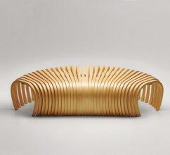 Ideas para decorar: Banca Ribs de Stefan Lie – Design By Them 10 242x220