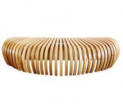 """""""La banca Ribs, creada por el diseñador australiano Stefan Lie del colectivo Design By Them.""""  Ideas para decorar: Banca Ribs de Stefan Lie – Design By Them 131 242x220"""