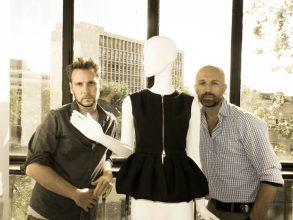 """""""Álvaro Castejón y Arnaud Maillard son los artífices de Alvarno, una firma española de prêt-à-porter femenino que apuesta por el lujo."""""""