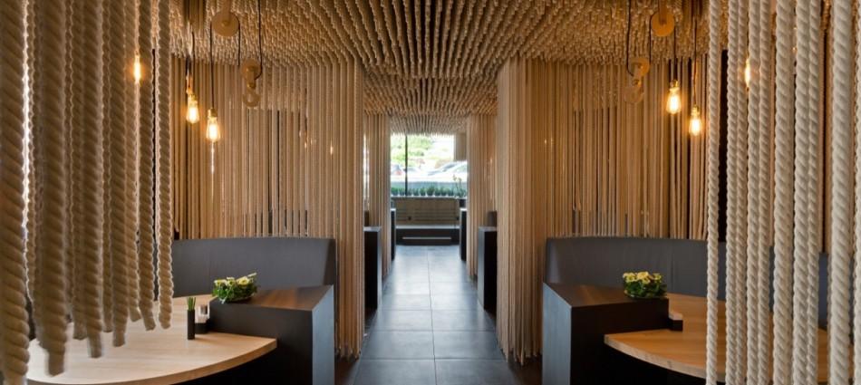 Decoración de Interiores: Restaurant Odessa de YOD Design Lab 102