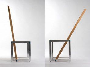 """""""La silla Áurea fue diseñada por el arquitecto argentino Federico Mauro Costa en mayo de 2009."""""""