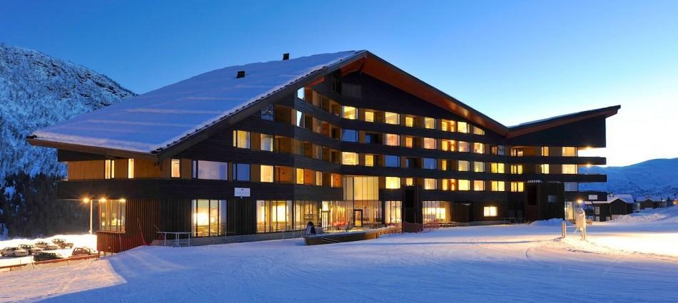 Proyectos de Arquitectura: Hotel Myrkdalen de JVA 44