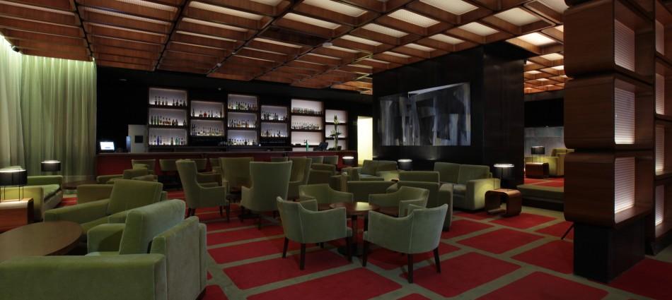 Decoración de Interiores: Hilton Lobby Bar de Pascal Arquitectos 51