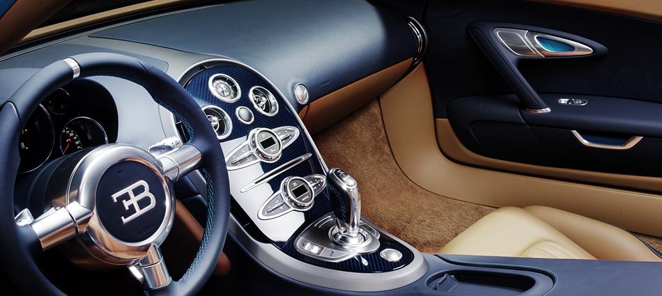 Bugatti Veyron Meo Costantini, el tercer modelo de la serie Les Légendes de Bugatti 107