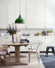 """""""Las mejores ideas para decorar cocinas con estilo.""""  Decoración de Interiores: 3 cocinas frescas y dulces para tomar nota 111 179x220"""