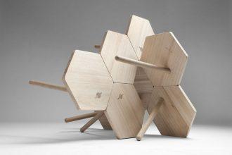 """""""Los diseñadores Flip Sellin y Markus Dilger de la firma Coordination, se inspiraron en la artesanía tradicional."""""""