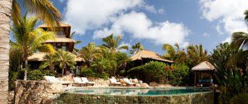 """""""Necker Island, paradisíaca isla privada de Sir Richard Branson, está ubicada en las Islas Vírgenes Británicas.""""  Viajes de Lujo: Necker Island, un paraíso privado Isla privada Necker Island7 357x150"""