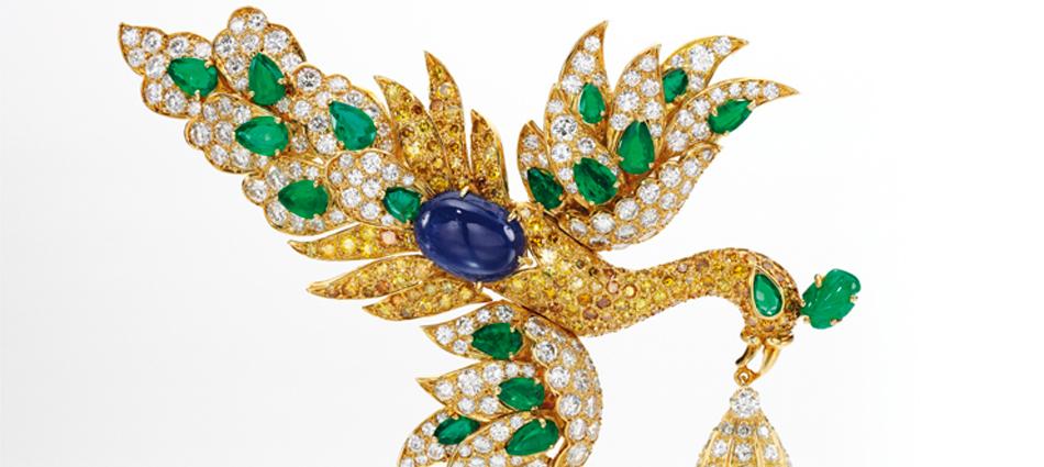 Walska Briolette Diamond Brooch, exclusiva pieza joyera de subasta exclusiva pieza joyera