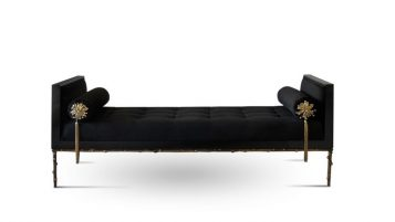 """La firma portuguesa Koket reinterpreta el concepto de diván o sofá cama con el modelo Prive.""  Ideas para Decorar: Diván Privé de Koket ideas para decorar divan prive2 357x201"