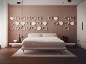 """""""Las paredes no sólo son funcionales, sino que también son una parte integrante de la decoración de interiores.""""  Cómo decorar las Paredes del Dormitorio Principal 1 294x220"""