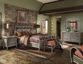 """""""Las paredes no sólo son funcionales, sino que también son una parte integrante de la decoración de interiores.""""  Cómo decorar las Paredes del Dormitorio Principal 11 284x220"""
