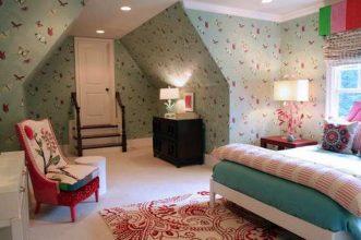 """""""Las paredes no sólo son funcionales, sino que también son una parte integrante de la decoración de interiores.""""  Cómo decorar las Paredes del Dormitorio Principal 311 331x220"""