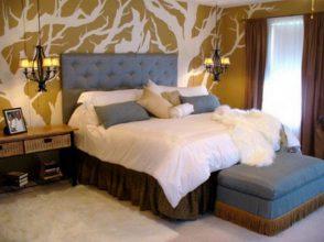 """""""Las paredes no sólo son funcionales, sino que también son una parte integrante de la decoración de interiores.""""  Cómo decorar las Paredes del Dormitorio Principal 332 294x220"""