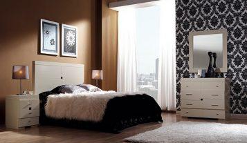 """""""Las paredes no sólo son funcionales, sino que también son una parte integrante de la decoración de interiores.""""  Cómo decorar las Paredes del Dormitorio Principal 36 357x207"""