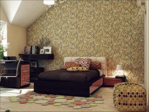 """""""Las paredes no sólo son funcionales, sino que también son una parte integrante de la decoración de interiores.""""  Cómo decorar las Paredes del Dormitorio Principal 371 293x220"""
