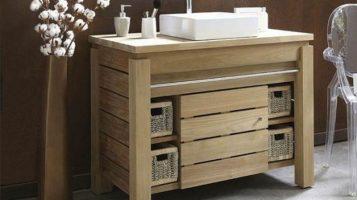 """""""El baño debe ser un espacio armónico que proporcione esa buscada sensación de bienestar""""  Ideas para Decorar el Cuarto de Baño 44 armario lavabo 357x200"""