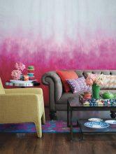 """""""Una nueva capa de pintura puede transformar cualquier habitación y más aún si se emplea una técnica tan novedosa como el efecto ombré"""""""