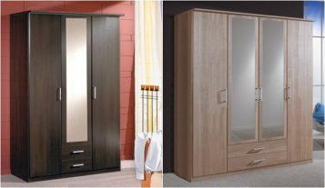 """""""Las mejores ideas para decorar espacios modernos con armarios con espejo.""""  Ideas modernas para decorar armarios con espejo Armarios con espejo 2 357x207"""