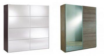 """""""Las mejores ideas para decorar espacios modernos con armarios con espejo.""""  Ideas modernas para decorar armarios con espejo Armarios con espejo 3 357x191"""