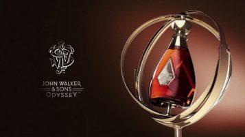 """""""Llega al continente americano la nueva mezcla de Johnnie Walker, el impresionante John Walker & Sons Odyssey."""""""