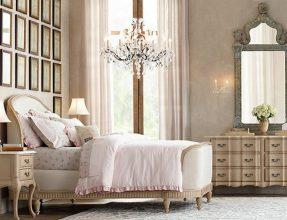 """""""Las paredes no sólo son funcionales, sino que también son una parte integrante de la decoración de interiores.""""  Cómo decorar las Paredes del Dormitorio Principal espejos 4 287x220"""