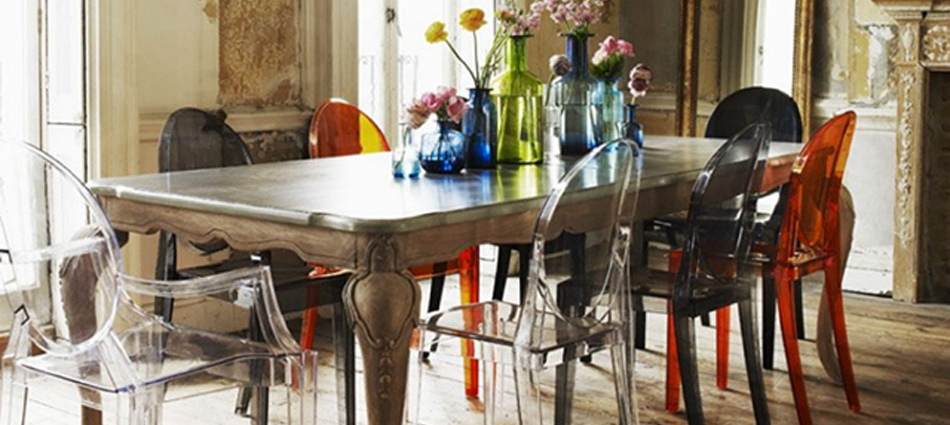 Ideas para Decorar: Louis Ghost, diseñada por Philippe Starck para Kartell Louis Ghost kartell