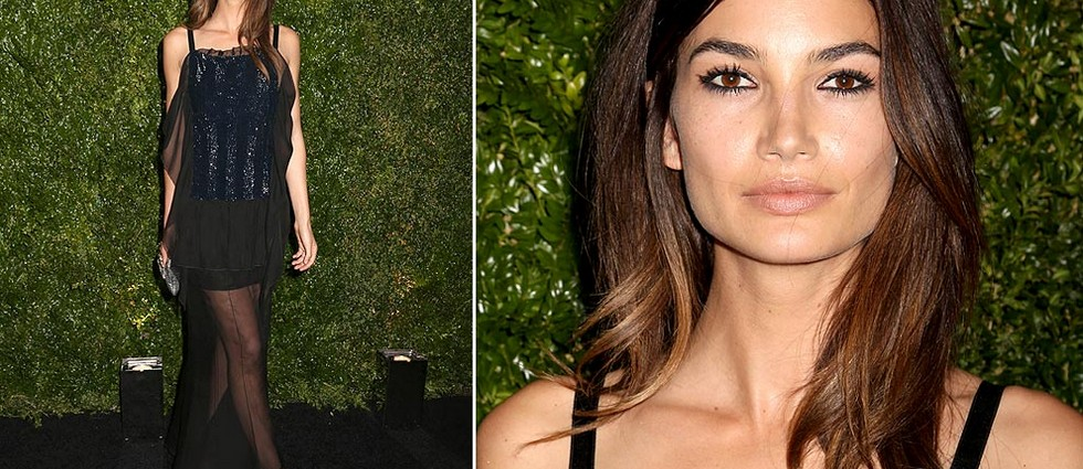 """Actores, modelos e it girls en la Artists dinner organizada por Chanel en el Festival de cine de Tribeca"" Festival de cine de Tribeca: La Artists Dinner de Chanel lily aldridge chanel tribeca 1 a"