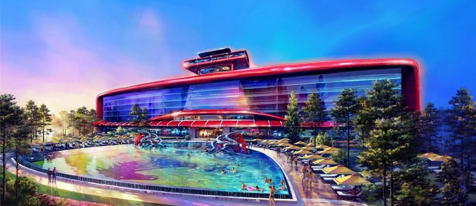 """""""El primer hotel de Ferrari y su segundo parque temático serán abiertos en Barcelona en 2016""""  Ferrari abrirá su primer hotel de lujo en Barcelona portada4"""