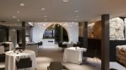 """""""Caro Hotel es un hotel-monumento de 5 estrellas ubicado en Valencia diseñado por el interiorista y diseñador industrial Francesc Rifé""""   Caro Hotel Valencia, una obra 5* de Francesc Rifé CARO HOTEL VALENCIA COMEDOF1 178x100"""